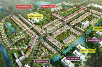 Hot! Duy nhất 1 lô nhà phố view hồ dự án Dragon village quận 9, giá 4.290 tỷ. LH 0913048029