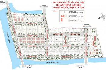 Bán lô đất nền Topia Garden Khang Điền 96m2, view rạch, giá 31tr/m2, Liên hệ 0939.867408