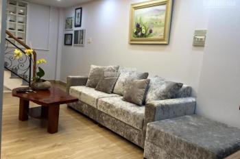 Cho thuê nhà nguyên căn (1trệt, 1lửng, 3lầu), đầy đủ nội thất trang thiết bị hiện đại(dọn vô là ở)