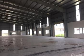 Bán nhà xưởng, KCN Long Hậu, đường Tân Lập, huyện Cần Giuộc, tỉnh Long An. DT: 5000m2, giá 40 tỷ