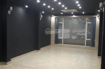 Cho thuê cả nhà MP Nguyễn Chí Thanh, 80m2 x 7 tầng mặt tiền 5m hè 5m, ô tô đỗ cửa khu sầm uất