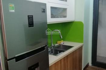 Vợ chồng tôi cho thuê gấp căn hộ 2PN KĐT TP Giao Lưu 234 PVĐ, đã có sàn gỗ, nóng lạnh giá 6tr/th