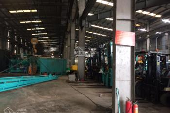 Cho thuê 3000m2 -5000 m2 nhà xưởng gần KCN Thạch Thất khung Zamil ký HĐ 5 năm