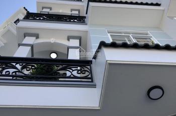 Nhà phố hẻm xe hơi 1135 Huỳnh Tấn Phát, Q7 -Diện tích: 4.x14m, thiết kế: Trệt 3 lầu 4PN sân thượng