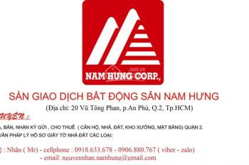Bán nhà mặt tiền Đỗ Xuân Hợp, phường Bình Trưng Đông, quận 2, DT: 162m2, sổ hồng, giá 155 tr/m2