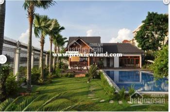 Cần tiền bán nhanh căn biệt thự bờ sông tại Thảo Điền 1600m2, 6PN 1 trệt 2 lầu