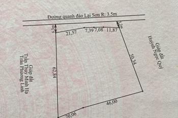 Chính chủ cần bán  đất ven biển Hòn Sơn,lại sơn kiên giang ( gần cây dừa nằm) liên hệ: O963828360