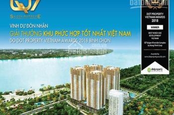 Căn hộ Q7 view sông SG, giá rẻ, thanh toán 30%, giá gốc CĐT, CK 3-18% LH: 0917888658