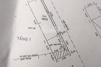 Bán nhà mặt tiền Cống Lở, P15, Tân Bình DT: 5x22m. Nhà cấp 4 giá 10tỷ1