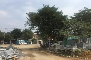 Cho thuê lâu dài hoặc bán 500m2 đất 2 mặt đường Quốc Lộ 6, Chúc Sơn, Chương Mỹ, Hà Nội