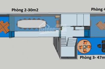 Cho thuê phòng đẹp giá văn tốt tại Võ Văn Tần, Q3, DT: 50 - 70 - 100 - 135m2, 370.56 nghìn/m2