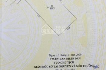 Bán đất nền biệt thự khu Cồn Khương, gần chợ đêm mới, thổ cư 100%, tổng DT 834m2