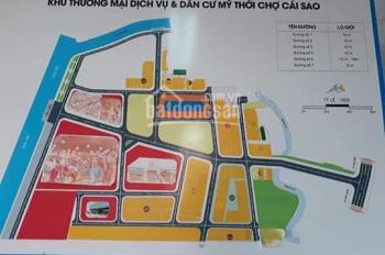Đất nền dự án chợ Cái Sao, 90m2, 1 tỷ 3. LH: 0907062497