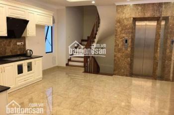 Cho thuê nhà nhà MP khu vực Hoàng Cầu, căn góc, mặt tiền 6m, S: 85m2 x 6 tầng, giá thuê: 50tr/th