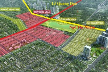 Bán 1 căn biệt thự Dương Nội, đường trước nhà 25m. Tiện làm văn phòng công ty 12 tỷ
