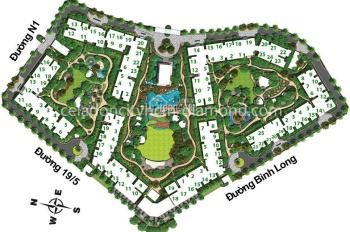 Bán gấp căn hộ Celadon City 3PN 2WC, view nội khu, hướng Đông Nam. Liên hệ: 0909 062 967