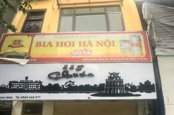 Tasaland - Cho thuê mặt phố Thanh Nhàn, 60m2 x 4T, MT 5,5m, chỉ 45 triệu/tháng