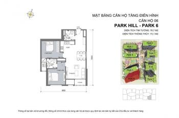 Tôi cần bán cắt lỗ căn hộ 80m2, P06 Times City Park Hill, SĐ, 3.1 tỷ. LH: 0989 201 635