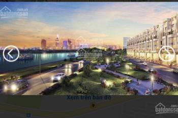 Bán gấp lô đất mặt tiền sông cầu Thời Đại, Quận 2, sổ đỏ, nhận nền xây ngay giá 1,9 tỷ 0346747777