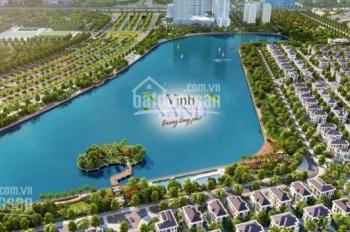 Bán biệt thự mặt hồ Vinhomes Green Bay Mễ Trì, DT 300m2 - 500m2, giá từ 60 tỷ/căn. LH 0945318338