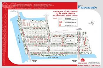 Bán đất nền Topia Garden, DT 6x19m đường 12m giá 29tr/m2 (bao VAT) 1 lô duy nhất, LH 0949766228 Hải