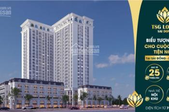Mở bán dự án cao cấp TSG Lotus Sài Đồng, giá hấp dẫn. LH đặt mua căn tầng đẹp 0944.288.802