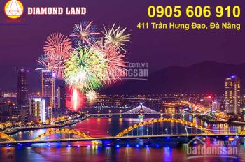 Bán đất đường Cao Bá Quát đầu cầu Rồng phố chợ đêm Sơn Trà, Đà Nẵng 90m2, hướng Đông. LH 0905606910