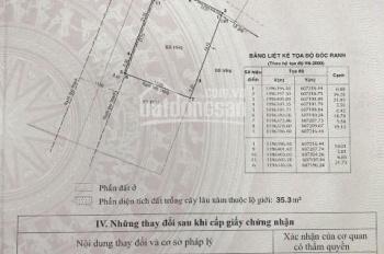 Cần bán 506.6m2 đất 2 mặt tiền đường Nguyễn Văn Hưởng có thể xây cao tầng