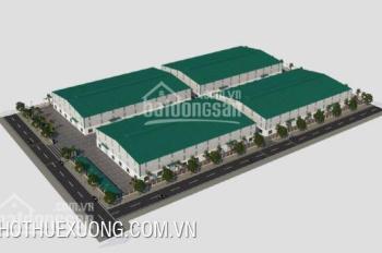Cho thuê nhà xưởng hiện đại mới xây tại KCN Quế Võ 2, Bắc Ninh, DT 16020m2