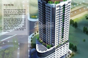 Bán căn hộ cao cấp Star Tower, diện tích 100m2, view công viên Cầu Giấy, giá 30 triệu/m2