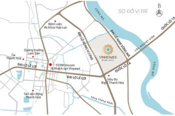 Hot! Căn shophouse cuối cùng ở khu phố đi bộ Vinhomes Thanh Hóa, liên hệ: Ngọc Dũng 0987.754.582