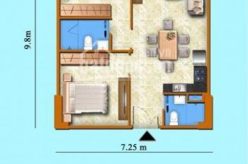Chủ nhà bán gấp căn 71m2, 2PN, 2TL chung cư Sơn Thịnh 3 với giá cực tốt. Liên hệ Dũng 0908505651