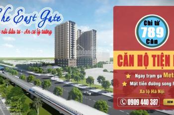 Căn hộ The East Gate Kim Oanh, ngay Làng Đại Học Quốc Gia, bến xe Miền Đông mới. LH: 0909.440.387