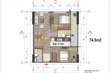 Bán căn 20 tầng 16 chung cư 43 Phạm Văn Đồng. Hl: 0966 824 789