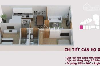(Gấp) do chuyển công tác cần nhượng lại căn hộ 65m2 DA Tháp Doanh Nhân, LH 0965.65.88.33