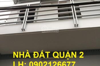 Bán nhà 1 lầu, giá 2,6 tỷ, P. Bình Trưng Đông, quận 2. LH: 0902126677