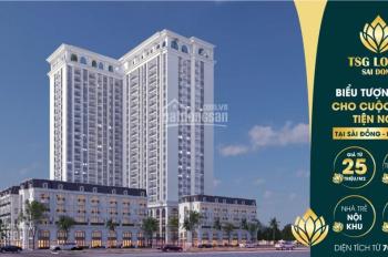 Chung cư cao cấp nhất khu đô thị Sài Đồng giá chỉ từ 25 triệu, tiện ích đồng bộ vị trí tuyệt đẹp