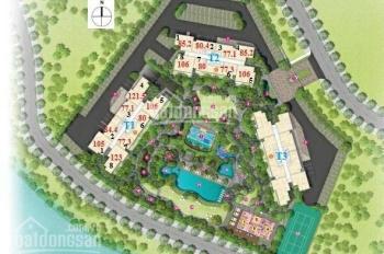 Bán Palm Heights, 2PN, 2WC, DT 79,1m2, tháp T2, view Đông Nam, view hồ bơi và Sông Giồng Ông Tố