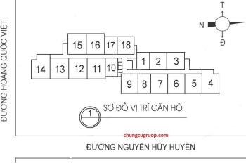 A Tài bán gấp tầng 16-12, DT 117m2, 3PN, CC 60 Hoàng Quốc Việt, giá rẻ 27tr/m2. LH: 0968.822.071
