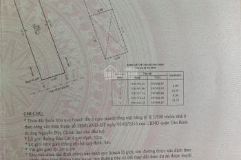 Bán nhà hẻm xe hơi khu Bàu Cát DT 6x26m vuông vức 155m2. Giá chỉ 13.5 tỷ Phường 14, Q. Tân Bình