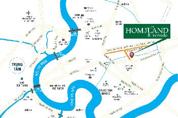 Mở bán Homyland Riverside, quận 2, NT cao cấp, 75m2 chỉ 2.5 tỷ nhận nhà ngay, LH 0903.69.10.96
