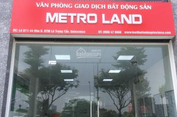 Cập nhật bảng hàng mới tại dự án Geleximco Lê Trọng Tấn khu A, B, C, D. Hotline 0986 47 6666