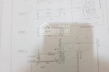 Bán nhà MT lô góc 4x13.4m, 3 lầu, HĐ thuê 47 triệu, giá 13.6 tỷ đường Lạc Long Quân ,Quận 11