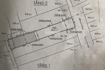 Bán gấp nhà cấp 4 khu cư xá Cửu Long, Ngô Tất Tố, P22, Bình Thạnh, 7tỷ, 95m2 đối diện khu Vinhome