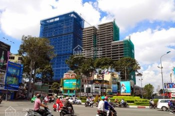 Bán gấp tòa nhà góc 2 mặt tiền đường 3 Tháng 2 và Sư Vạn Hạnh, P12, Q10. 12m x 16m, 5 tầng
