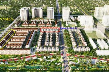 Nhà phố MTĐ Trần Quốc Toản đối diện KCN Vsip 2 vỉa hè lớn, thanh toán 5 năm LS 0%. LH: 0913509939