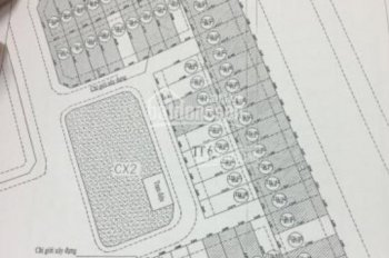 Bán đất đấu giá TT6 lô duy nhất còn lại nhìn chung cư Tecco, Thanh Trì, DT 92m2, giá 79 tr/m2