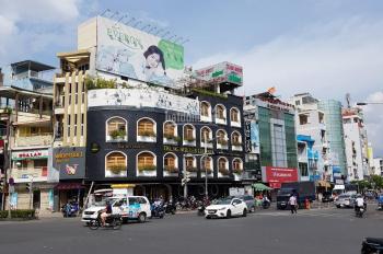 Bán gấp tòa nhà mặt tiền đường 3 Tháng 2, P12, Q10, giá thuê 400 tr/th. DTKV: 8,2m x 20m, hầm + 9L