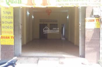 Cho thuê nhà nguyên căn mặt tiền đường Phan Chu Trinh, P Tân Thành, DT 4x20m vuông vức, 12 triệu