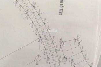 Bán lô đất biệt thự tại KĐT Nam An Khánh, Hoài Đức, Hà Nội, diện tích 541m2, giá 25tr/1m2